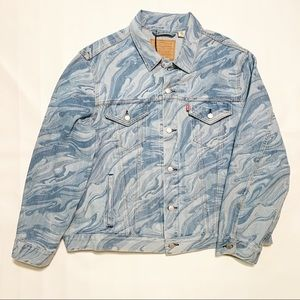 Levi's Vintage Fit Trucker Jacket Diaspore Laser